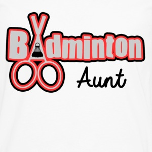 BADMINTON AUNT - Men's Premium Long Sleeve T-Shirt