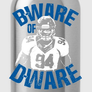Rugby B-Ware Of D-Ware - Water Bottle