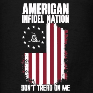 American Infidel Nation  - Men's T-Shirt