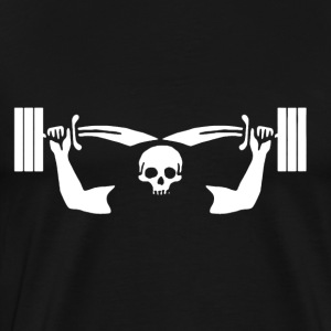 Barbell Shirt - Men's Premium T-Shirt