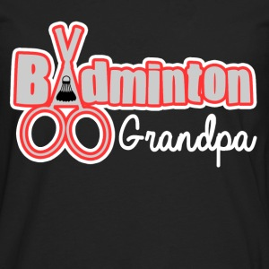 BADMINTON GRANDPA - Men's Premium Long Sleeve T-Shirt