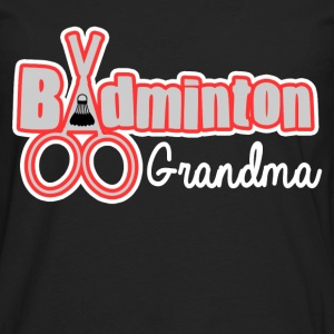 BADMINTON GRANDMA - Men's Premium Long Sleeve T-Shirt