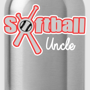 SOFTBALL UNCLE - Water Bottle