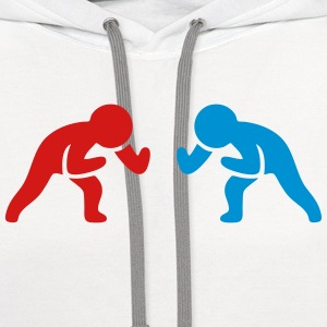 Wrestling Men Sports Kids' Shirts - Contrast Hoodie