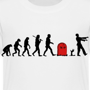 Zombie Evolution Kids' Shirts - Toddler Premium T-Shirt
