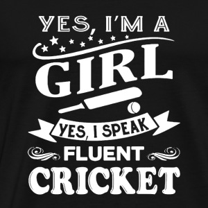 Fluent Cricket Shirt - Men's Premium T-Shirt