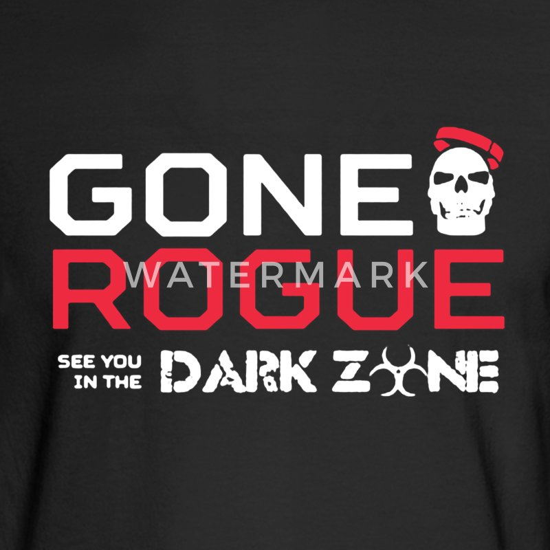 Gone Rogue Shirt - Men's Long Sleeve T-Shirt