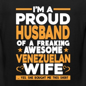 Proud Husband Of Venezuelan Wife - Men's Premium Tank