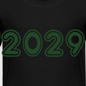 2029, Numbers, Year, Year Of Birth Kids' Shirts - Toddler Premium T-Shirt