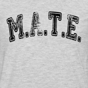 MATE Friend Buddy T-Shirts - Men's Premium Long Sleeve T-Shirt