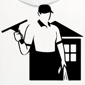 window cleaner T-Shirts - Contrast Hoodie