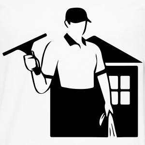 window cleaner T-Shirts - Men's Premium Long Sleeve T-Shirt