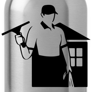 window cleaner T-Shirts - Water Bottle