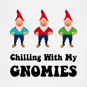 Chilling With My Gnomies - Adjustable Apron