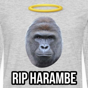 RIP Harambe T-shirt - Men's Premium Long Sleeve T-Shirt
