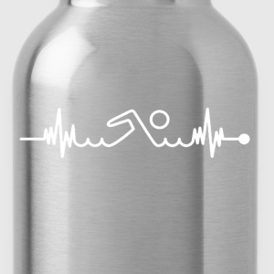Swimming Pulse Shirt - Water Bottle