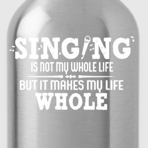 Singing Shirt - Water Bottle