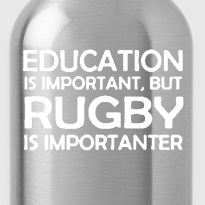Rugby Is Importanter - Water Bottle