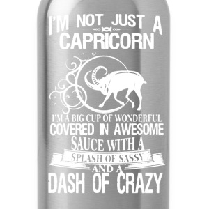 Capricorn Shirt - Water Bottle