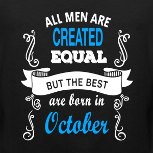 Best Men Born In October - Men's Premium Tank