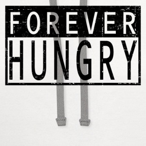 FOREVER HUNGRY - Contrast Hoodie