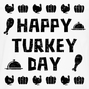 HAPPY TURKEY DAY - Men's Premium Long Sleeve T-Shirt