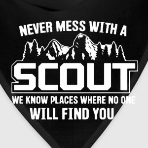 Never Mess With A Scout - Bandana