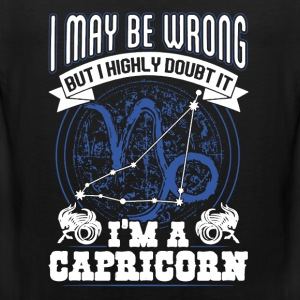 Proud Capricorn Shirt - Men's Premium Tank