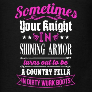 Shining Armor Shirt - Men's T-Shirt