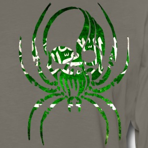 SAUDI ARABIA SPIDER SKULL T-Shirts - Men's Premium Long Sleeve T-Shirt