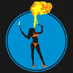 female_fire_artist_072016_b_3c Mugs & Drinkware - Men's Premium T-Shirt