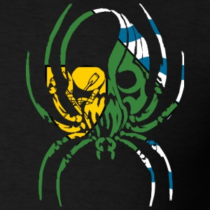 VANCOVER BC SPIDER SKULL Long Sleeve Shirts - Men's T-Shirt
