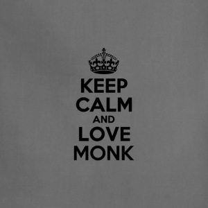 Keep calm and love monk T-Shirts - Adjustable Apron