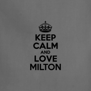 Keep calm and love milton T-Shirts - Adjustable Apron