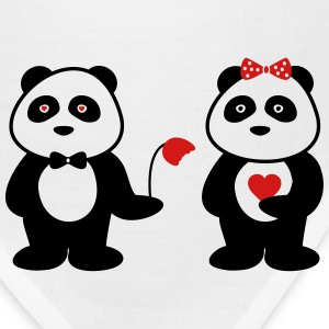 panda in love T-Shirts - Bandana