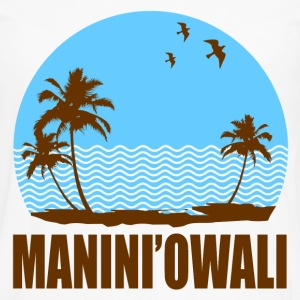 MANINI'OWALI BEACH - Men's Premium Long Sleeve T-Shirt