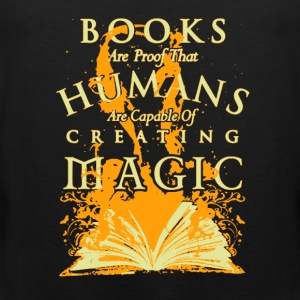 Books Are Proof - Men's Premium Tank