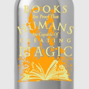 Books Are Proof - Water Bottle