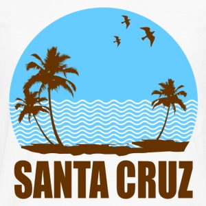 SANTA CRUZ BEACH - Men's Premium Long Sleeve T-Shirt