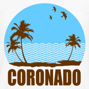 CORONADO BEACH - Men's Premium Long Sleeve T-Shirt