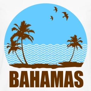 BAHAMAS BEACH - Men's Premium Long Sleeve T-Shirt
