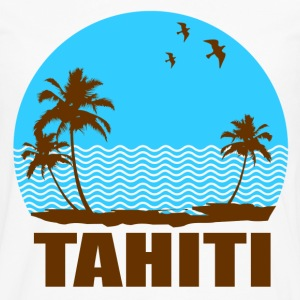 TAHITI BEACH - Men's Premium Long Sleeve T-Shirt
