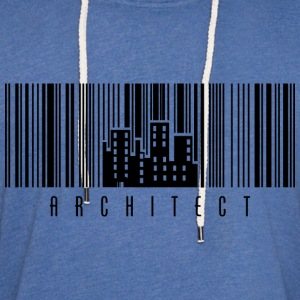 Architect Barcode T-Shirts - Unisex Lightweight Terry Hoodie