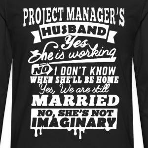 Project Manager's Husband - Men's Premium Long Sleeve T-Shirt