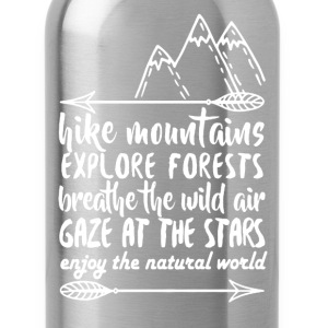Hike Mountains Shirt - Water Bottle