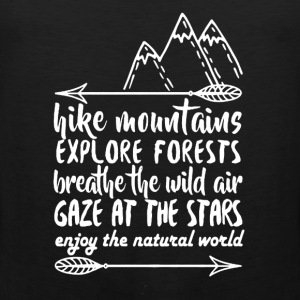 Hike Mountains Shirt - Men's Premium Tank
