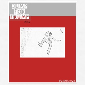 Jump for Trump Contrast Coffee Mug - Men's T-Shirt