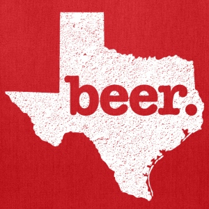 Texas State Beer Premium T-Shirt - Tote Bag