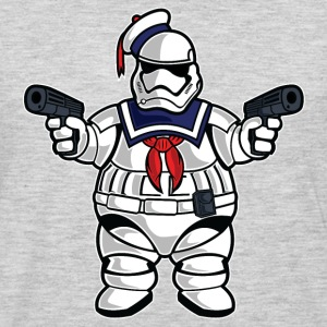 Stay Puft Stormtrooper T-Shirts - Men's Premium Long Sleeve T-Shirt