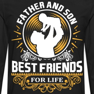 Father And Son Best Friends For LIfe T-Shirts - Men's Premium Long Sleeve T-Shirt